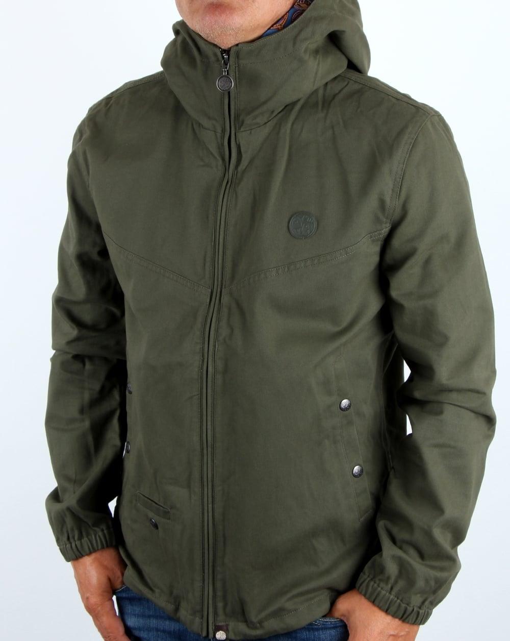 a1e5a3f9ade Pretty Green Pretty Green Classic Jacket Khaki
