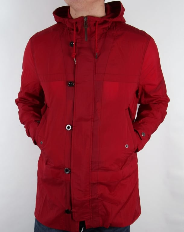 Pretty Green Claydon Jacket Red