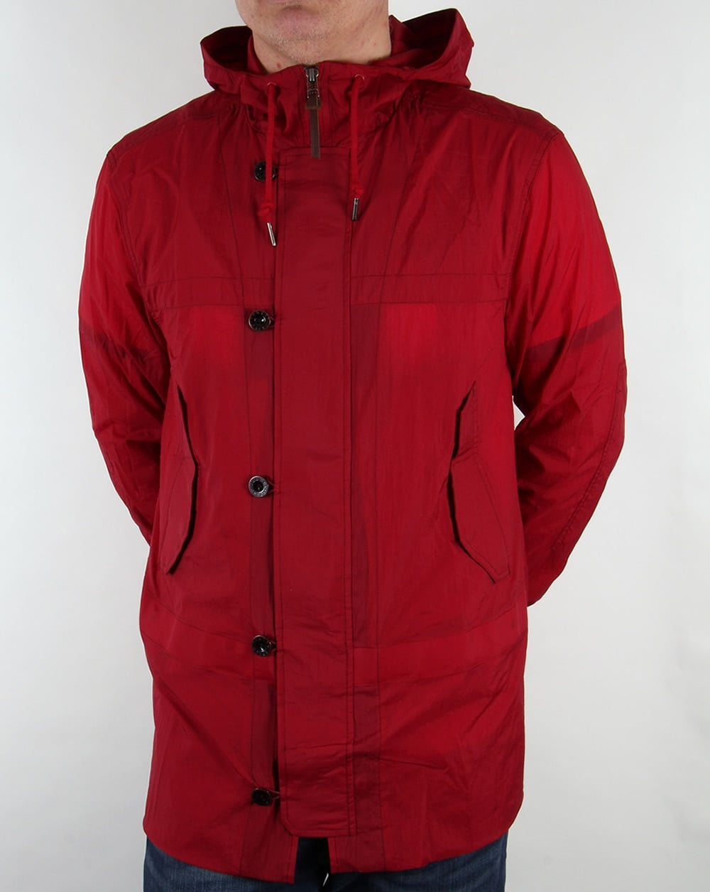Pretty Green Claydon Jacket Red - Pretty Green from 80s Casual ...