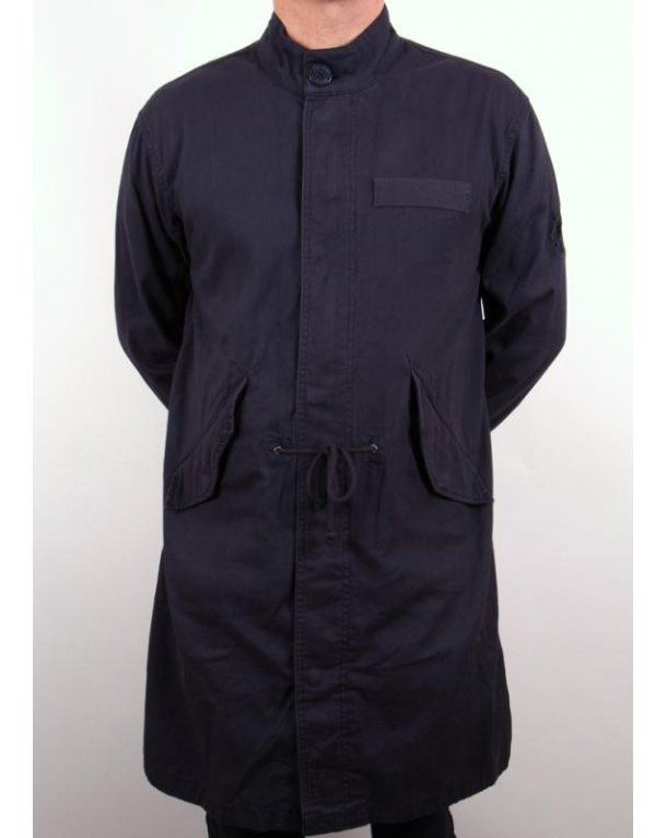 Pretty Green Deansgate Parka Navy