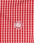 Pretty Green Ebsworth Gingham Shirt Red
