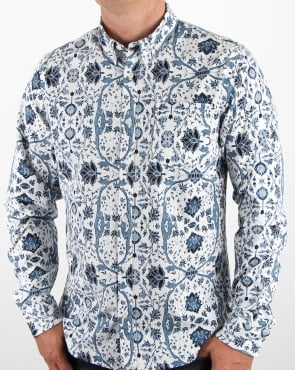 Pretty Green Ebury Shirt White