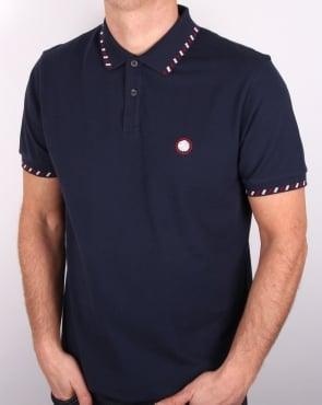 Pretty Green Elmwood Polo Shirt Navy