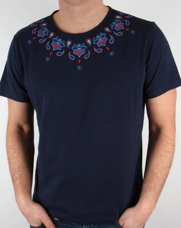 Pretty Green Elsdon T-shirt Navy