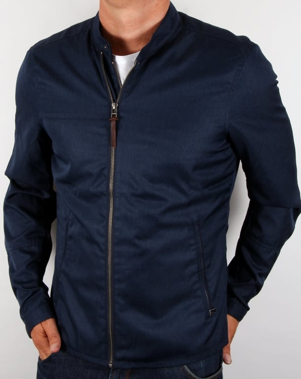 Pretty Green Ettrick Jacket Navy