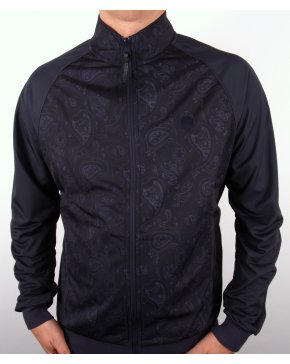 Pretty Green Forthsea Track Top Navy Blue