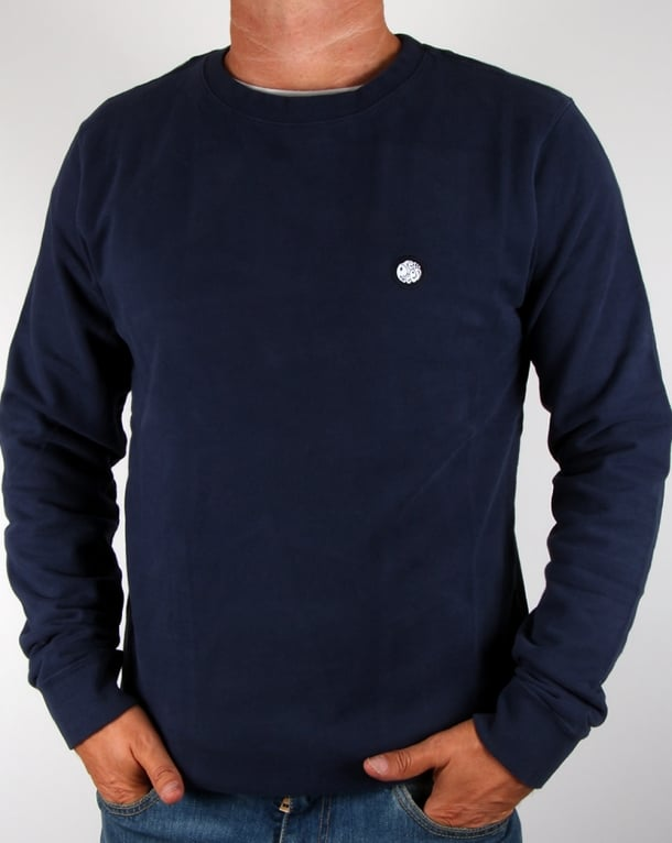 Pretty Green Foxlair Sweat Navy
