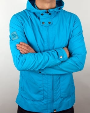 Pretty Green Glenbeck Jacket Turquoise