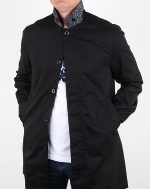 Pretty Green Glendon Mac Black