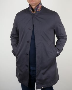 Pretty Green Glendon Mac Grey