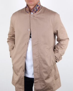 Pretty Green Glendon Mac Sand