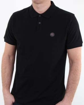 Pretty Green Hartford Polo Shirt Black