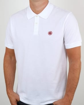 Pretty Green Hartford Polo Shirt White