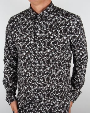 Pretty Green Ivylea Floral Shirt Black