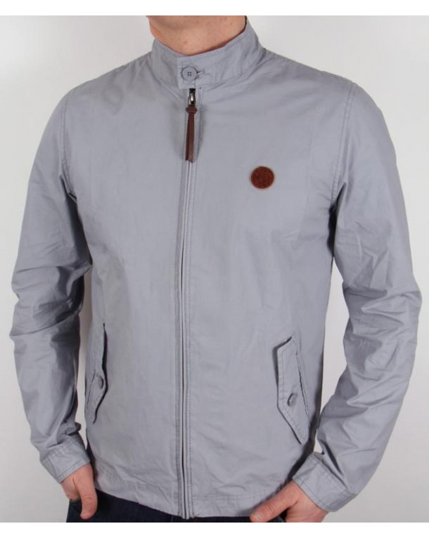 Pretty Green Kingsway Harrington Light Blue