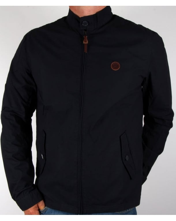 Pretty Green Kingsway Harrington Navy