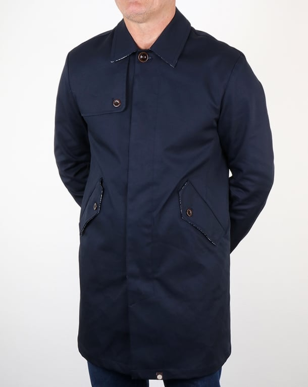 Pretty Green Layton Mac Navy
