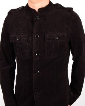Pretty Green Lennon Jacket Black
