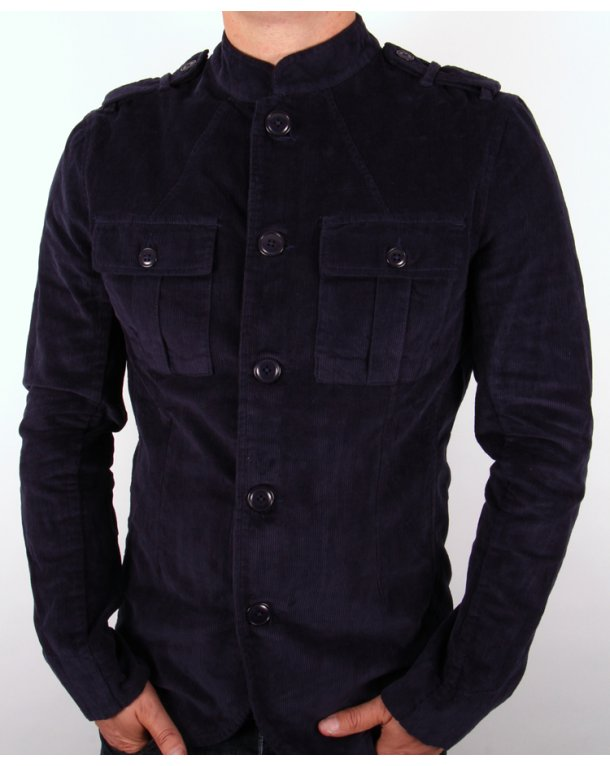 Pretty Green Lennon Jacket Navy
