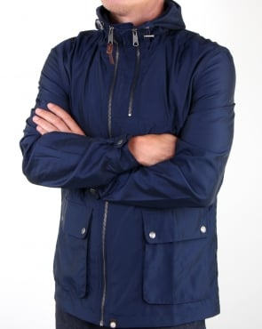 Pretty Green Maple Jacket Navy