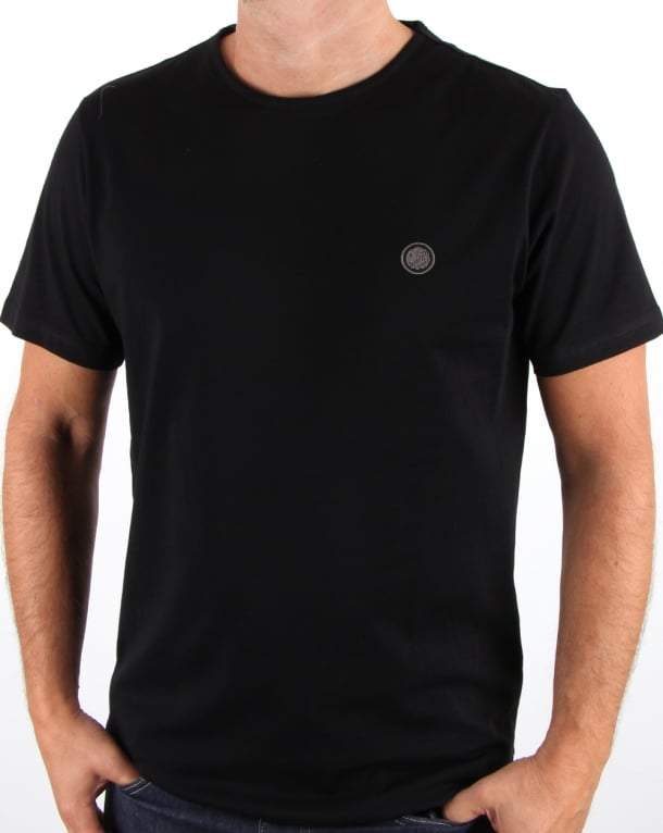 Pretty Green Mitchell Ss T Shirt Black