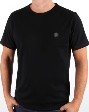Pretty Green Mitchell T Shirt Black