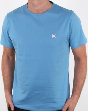 Pretty Green Mitchell T Shirt Blue