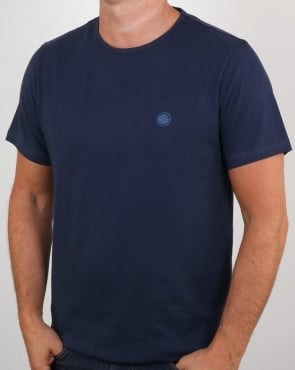Pretty Green Mitchell T Shirt Navy