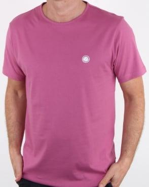 Pretty Green Mitchell T Shirt Pink