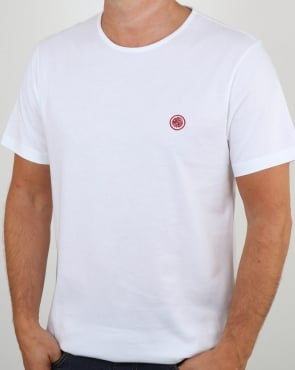 Pretty Green Mitchell T Shirt White
