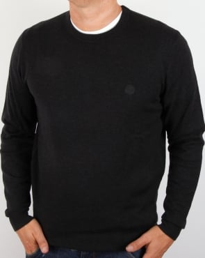 Pretty Green Mosley Jumper Charcoal