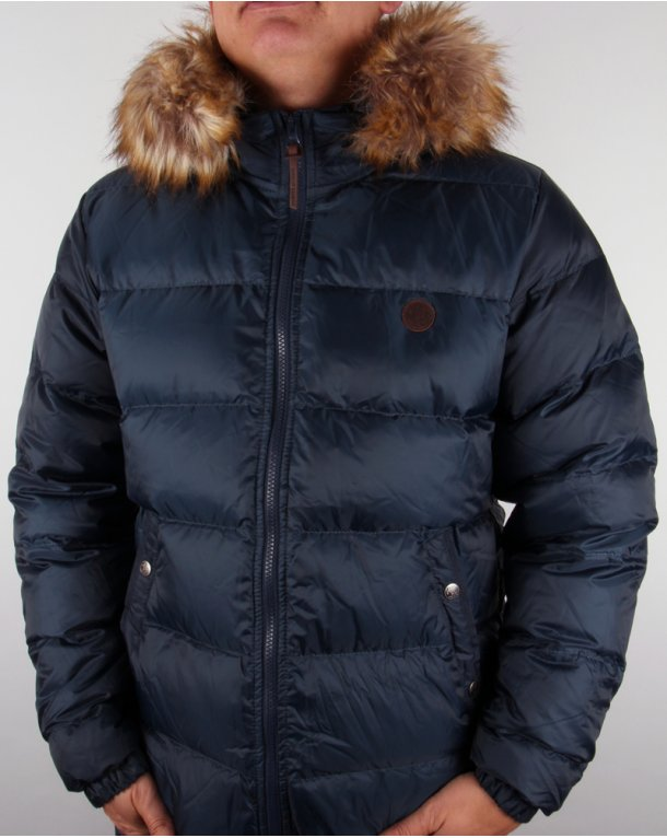 Pretty Green Northway Hooded Jacket Navy