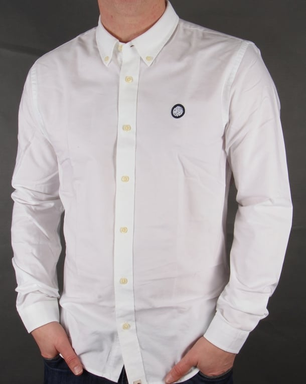 Pretty Green Oldbury Shirt White