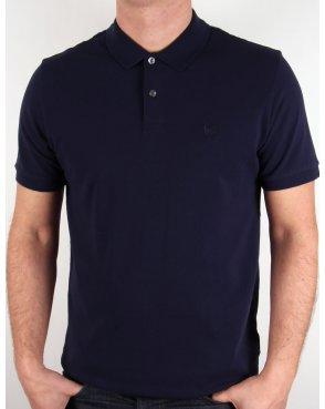 Pretty Green Pinnington Polo Shirt Navy Blue
