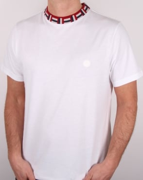 Pretty Green Plecteom T Shirt White