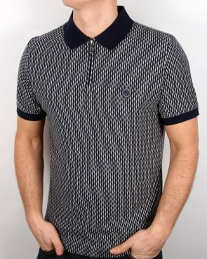 Pretty Green Saunton Polo Shirt Navy