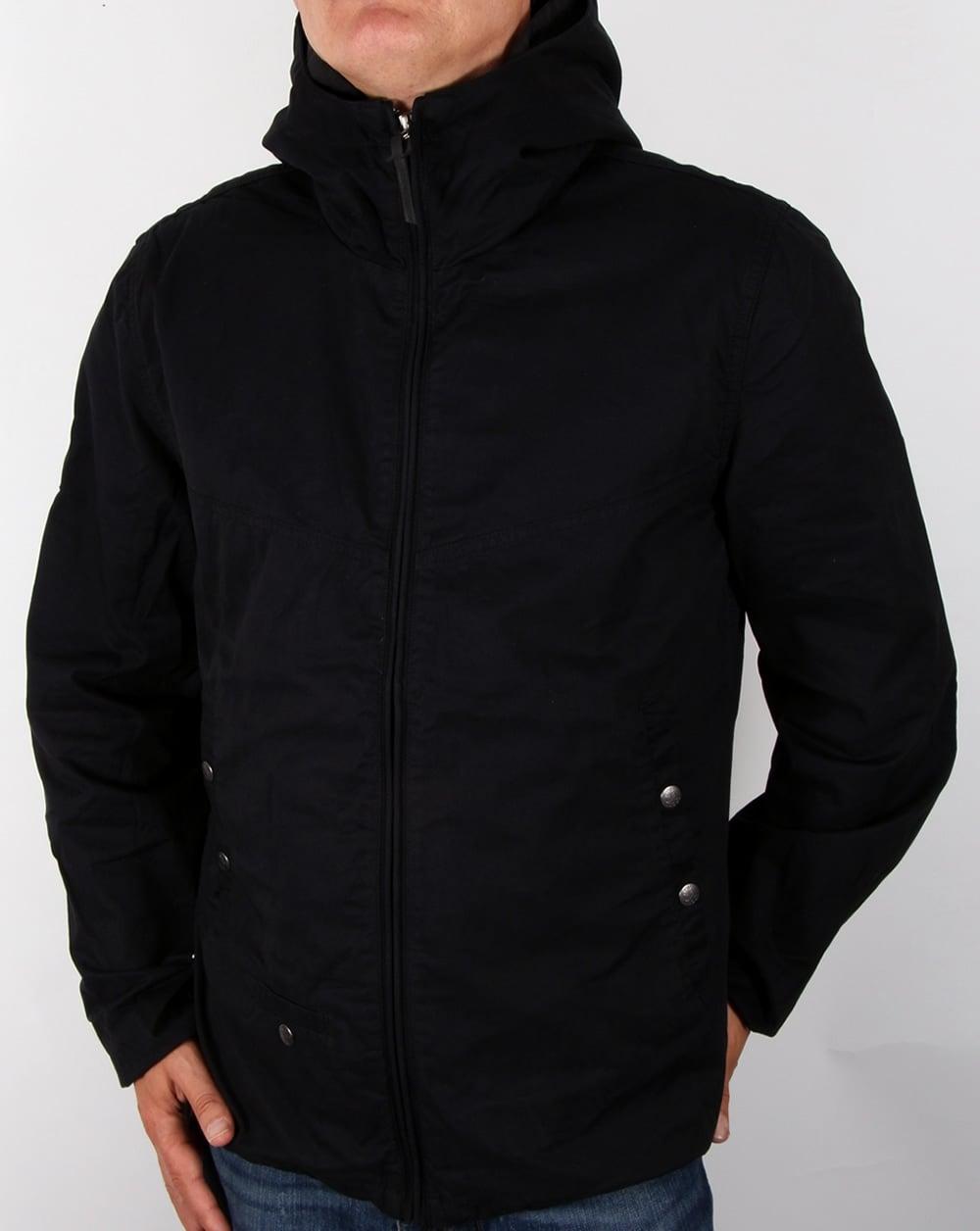 Pretty Green Jacket Black Sevenoaks Coat Festival 80s