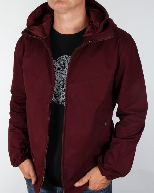 Pretty Green Sevenoaks Jacket Burgundy