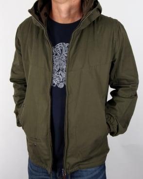 Pretty Green Sevenoaks Jacket Khaki