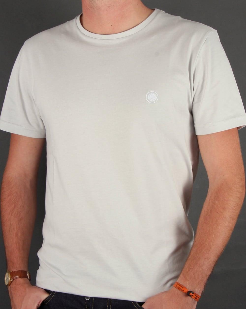 Pretty Green T Shirt Off White Round Neck Mens 80s
