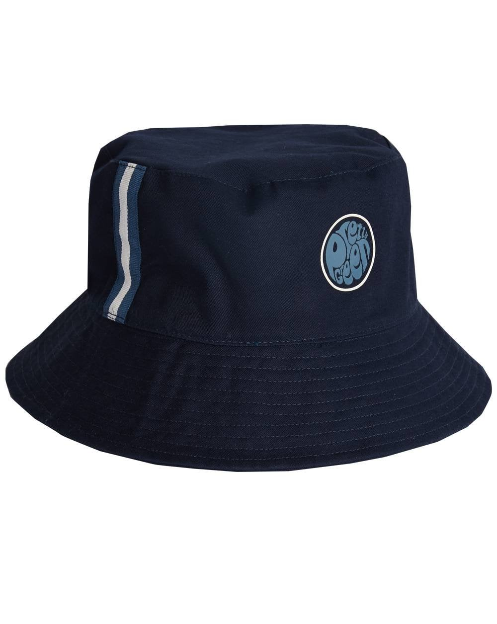 527c3ebad1ba3 Pretty Green Pretty Green Target Reversible Bucket Hat Navy