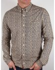 Pretty Green Tayton Shirt Navy Blue