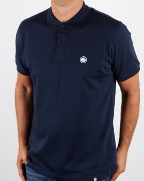Pretty Green Tendale Polo Dark Blue