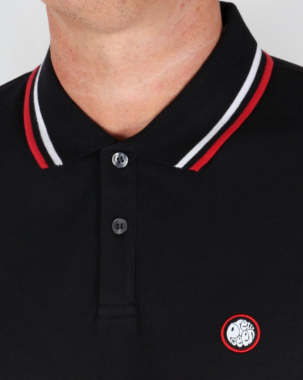 Black t shirt red collar - Black T Shirt Red Collar 48