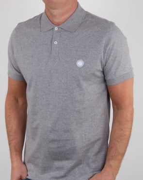 Pretty Green Tiverton Polo Shirt Grey