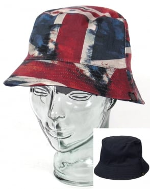 Pretty Green UJ Bucket Hat Red