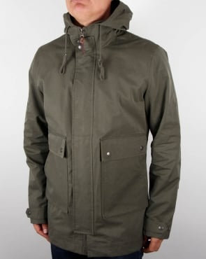 Pretty Green Whitworth Jacket Khaki