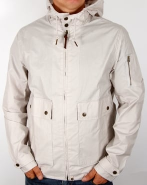Pretty Green Wren Jacket Light Grey