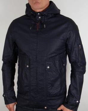 Pretty Green Wren Jacket Navy