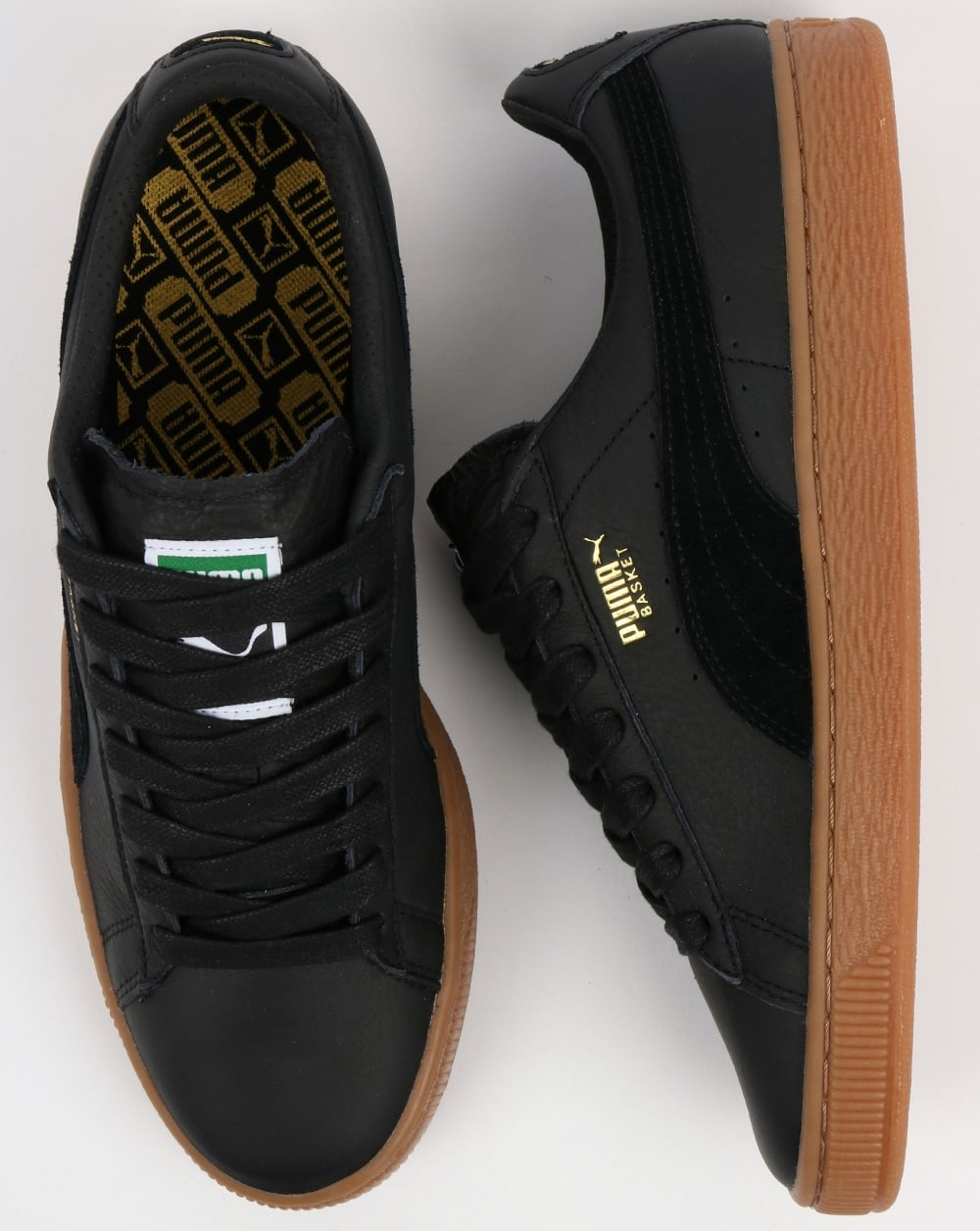 PumaBASKET CLASSIC DELUXE - Trainers - black
